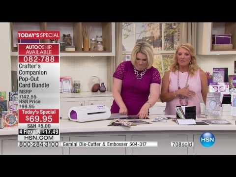 HSN | Crafter's Companion 05.09.2017 - 12 AM