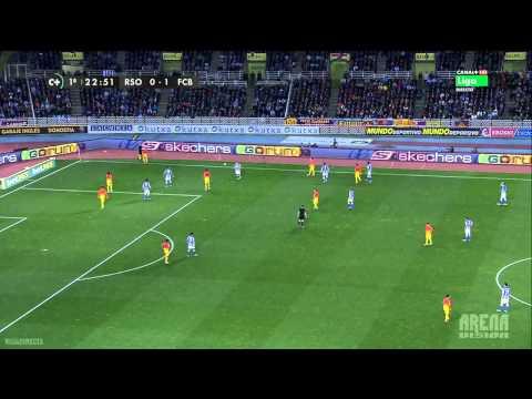 Real Sociedad 3-2 Barcelona Primer Tiempo