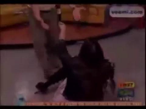 Taliana Vargas Se Cae En Muy Buenos Dias (vueltica)
