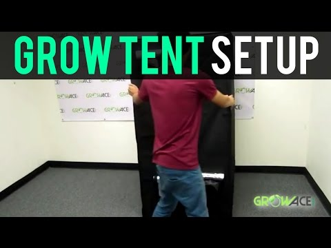 Growace.com   Grow Tent Setup Hydroponics Growace.com