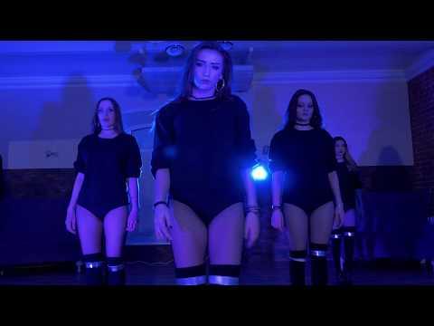 High Heels Dance in Blue Light   Dj Khaled