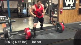 Dan Green (220) Deadlift Training