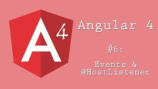 Angular 4 Tutorial 6: Events And @HostListener
