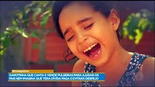 download musica Conheça Kiara a cantora que vende pulseiras para ajudar os pais