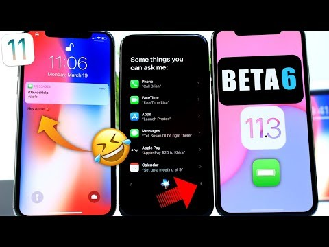 iOS 11.3 Beta 6 Follow-up | iOS 11.3 Glitch Appears in Apple iPhone X Commercial