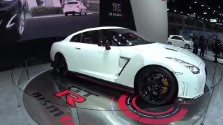 All new 2016, 2017 Nissan GTR aka Godzilla NISMO tuned 600-hp, 3.8-liter official video