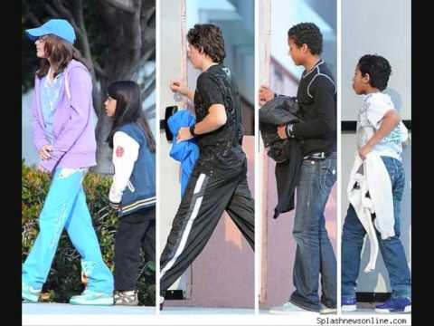 Paris Prince and Blanket at the movies 2010!!