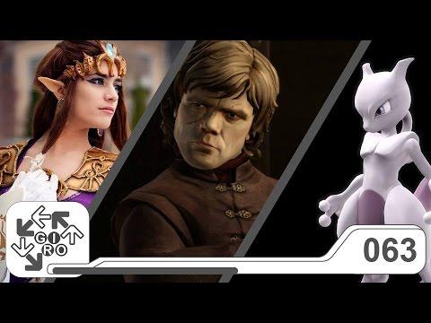 Giro Player 2 #63 - Sem Zelda no Netflix, Mewtwo no Super Smash Bros U e Ep3 de Game of Thrones