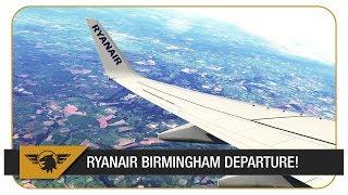 [X-Plane 11 60FPS] FREE 737-800 MOD FOR X-PLANE | RYANAIR BIRMINGHAM DEPARTURE | BIRMINGHAM - DUBLIN