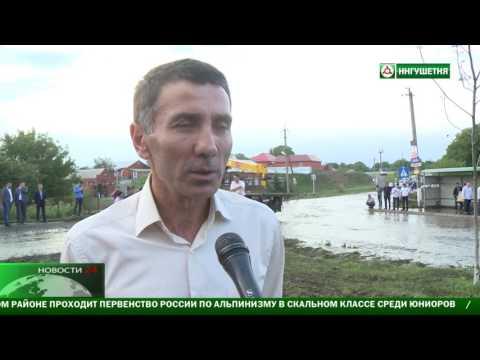 На Ингушетию снова обрушился дождь с градом.