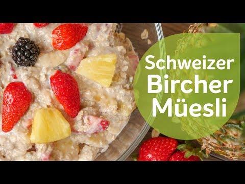 Birchermüesli   Schweizer Rezept   Vegan