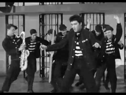 Elvis Presley  - Jailhouse Rock Hq video