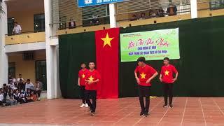 Cô ba sài gòn Giải nhì nhảy 26/3/2018 - lớp 11A4 THPT Nguyễn Văn Cừ