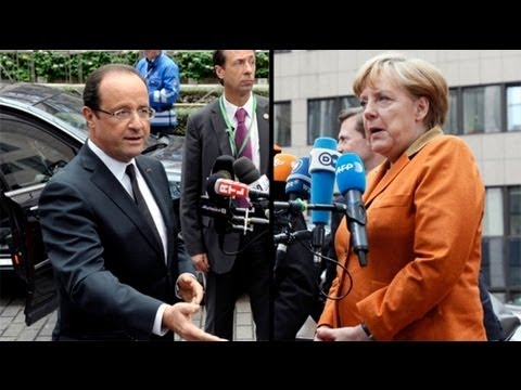 Hollande, Merkel set to clash over banking supervision