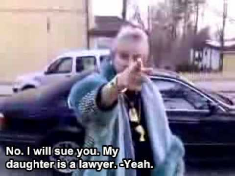 Finnish taxi customer (ENG SUBS)