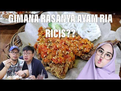 RIA RICIS PUNYA AYAM GEPREK?? Feat. ENJOYAJA