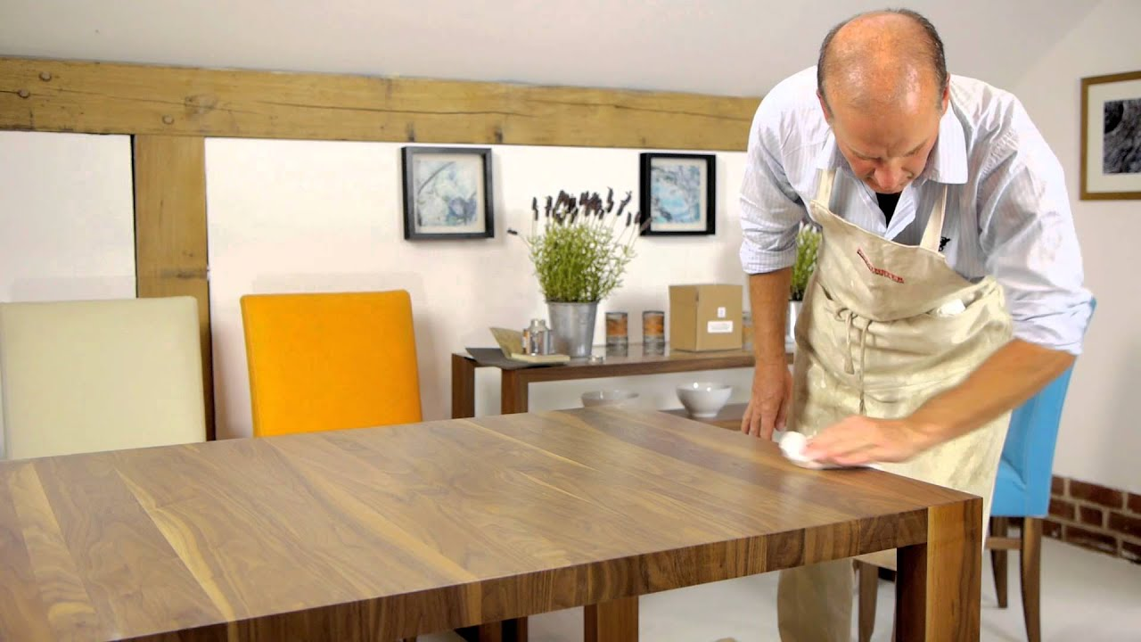 How To Repolish Your Dining Table Youtube