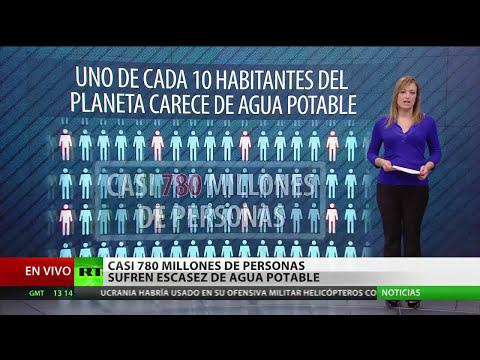 Sequías y guerras: la ONU advierte sobre una crisis mundial del agua