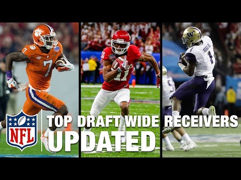 5 Wide Receivers In 2017 Nfl Draft Nfl Path To