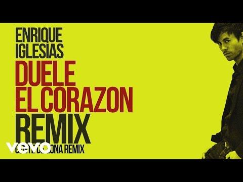 Enrique Iglesias - DUELE EL CORAZON (Remix)[Lyric Video] ft. Gente de Zona, Wisin