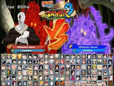 Download Naruto Shippuden Ultimate Ninja Storm 3 Full Burst Mugen ...