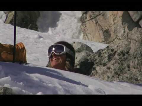 Telemark Skier Shaun Raskin