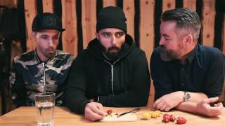 Chili tasting with Adam & Noah - 2 danish comedians + eng. subtitles