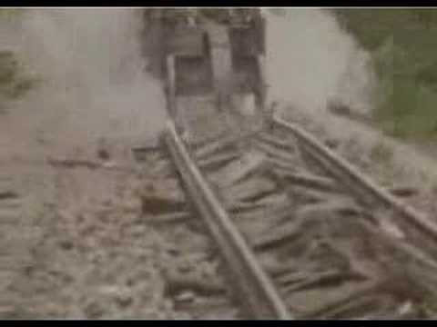 1945 Germans Destroy Their Own Railroads