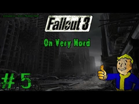 Let's Play Fallout 3 On Very Hard Part 5 - The Best Poem Ever