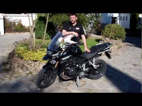 Triumph Explorer 1200 first ride