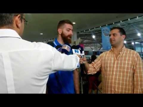 Αναχώρηση Εθνικής: Δηλώσεις Καϊμακόγλου