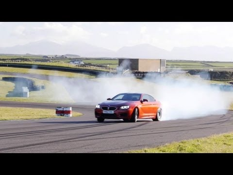 Drifting the 2013 BMW M5 and 2013 BMW M6 Coupe - CAR and DRIVER
