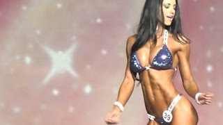 IFBB Bikini Nicole Markovic at the Phil Heath Pro