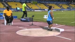 Men's shot put F40 | final |  2015 IPC Athletics World Championships Doha