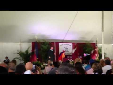 EAST HAMPTON HIGH SCHOOL GRADUATION 2012