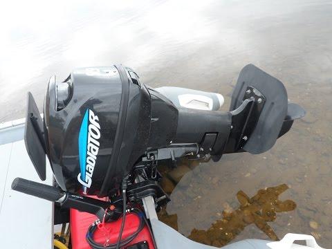 Гидрокрыло на лодочный мотор ПЛМ своими руками