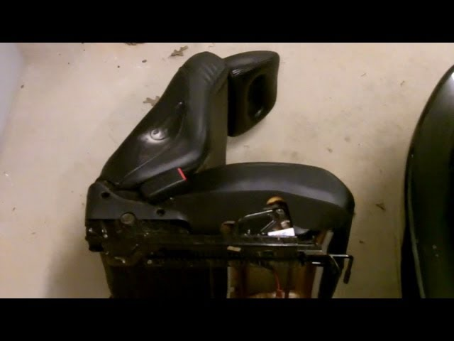 How to Fix A Stuck Drivers Seat (Part 3) - YouTube
