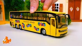 School Bus & Toy Trucks Friends - TAYO TRUCK FIXERS! - Toy Cars videos for kids