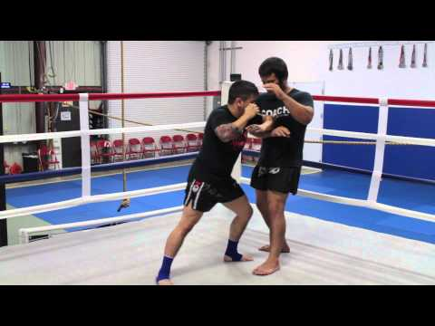 Jab, Lead Elbow to the Body | Naples Muay Thai Kickboxing Image 1