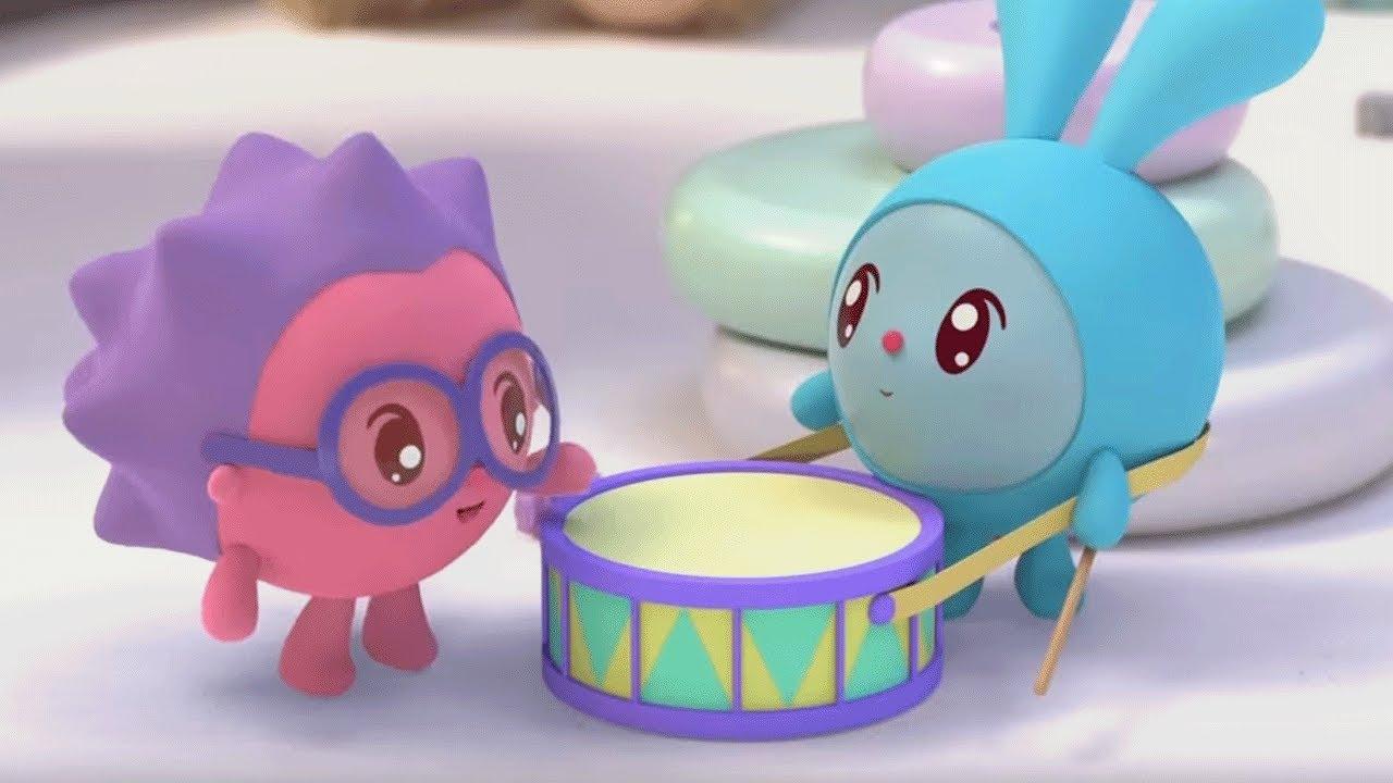 Малышарики - новые серии - Барабанщик (153 серия) Развивающие мультики для самых маленьких