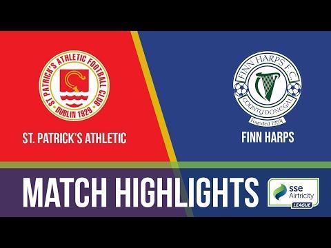 GW21: St. Patrick's Athletic 1-0 Finn Harps