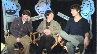 Diary of a Wimpy Kid 2: Rodrick Rules - Exclusive: Devon Bostick, Robert Capron and Zachary