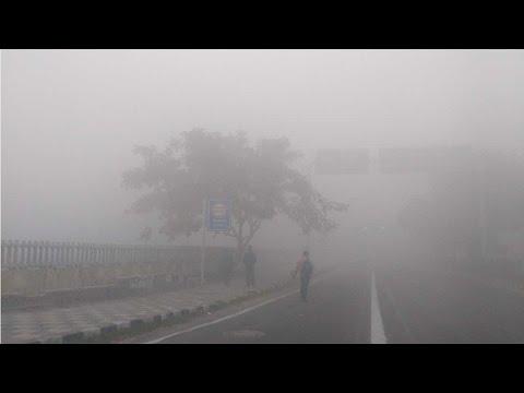 Fog engulfs Delhi NCR; Traffic disrupted, flights and trains delayed  , Watch Video