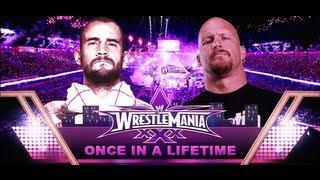 CM Punk vs Stone Cold Wrestlemania 30 Promo HD