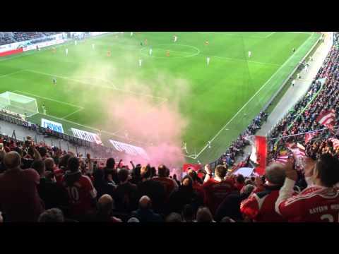 """VFL Wolfsburg - FC Bayern München 1:6 """"Super Bayern"""""""