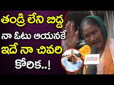 CM Jagan | Guntur Public Option About AP Next CM | Ap Elections | PDTV News