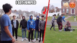 I Got Jumped By My Girlfriends Ex Boyfriend and his Friends...*not clickbait*