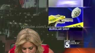 Courtney Friel - news blooper