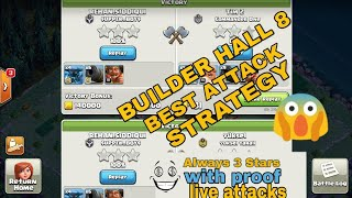 Builder hall 8 best attack strategy