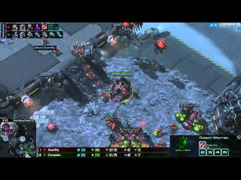 TvZ Bly vs Compalin - Bo3- Starcraft 2 HD 1080p/60FPS
